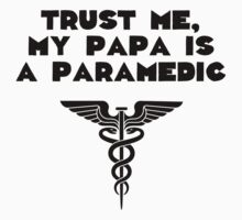 My Papa Is A Paramedic One Piece - Long Sleeve