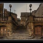 """""""STAIRWAY TO THE ORATORIES OF THE HOLY CRUCIFIX VITTORIOSA MALTA"""" by RayFarrugia"""