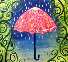 Rain helps us grow by Rootedbeauty