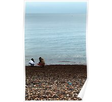 selecting pebbles Poster
