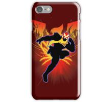 Super Smash Bros. Captain Falcon Silhouette iPhone Case/Skin