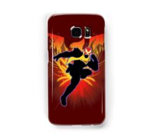 Super Smash Bros. Captain Falcon Silhouette Samsung Galaxy Case/Skin