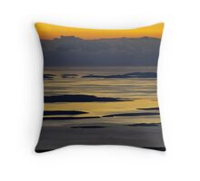 Land, Islands, sea Throw Pillow