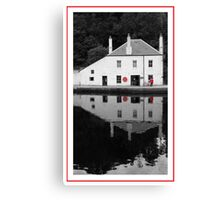 Crinan Harbour Masters Office Canvas Print
