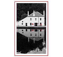 Crinan Harbour Masters Office Photographic Print