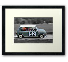 Grey Morris Mini Cooper Framed Print