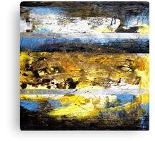 Splash of Color Oil Painting Canvas Print