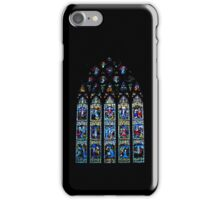 Black Abbey Windows Series: Rosary Window iPhone Case/Skin