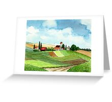 WESTFALEN GERMANY - AQUAREL Greeting Card