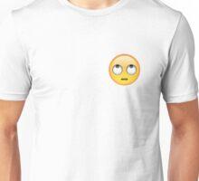 Eyeroll Emoji Unisex T-Shirt