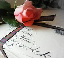 Letters of Love tied up with a tartan ribbon  by weecritter
