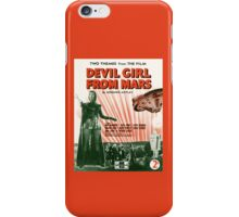 DEVIL GIRL FROM MARS (vintage illustration) iPhone Case/Skin