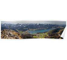 Lake Fuschl Poster