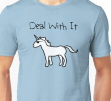 Deal With It (Unicorn) Unisex T-Shirt