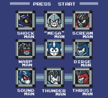 Defeat the Robot Masters!