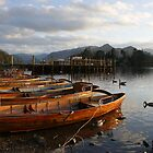Boats by the lake - Keswick by monkeyferret