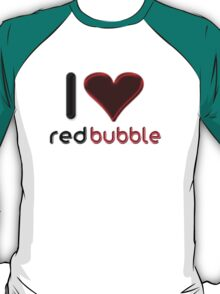 I ♥ RedBubble - [Stitches] T-Shirt