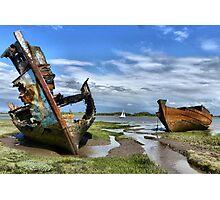 Fleetwood Wrecks Photographic Print