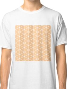 Grid Orange Classic T-Shirt