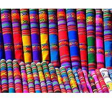 Rainbow Pattern Dye Photographic Print