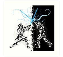 You were my brother, Anakin ! Art Print