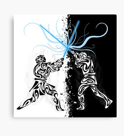 You were my brother, Anakin ! Canvas Print