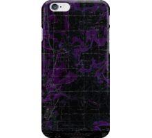 USGS Topo Map Washington State WA Mead 242269 1973 24000 Inverted iPhone Case/Skin