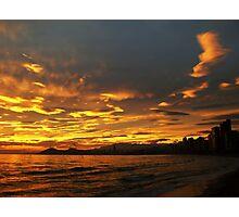 Spanish sunset Photographic Print