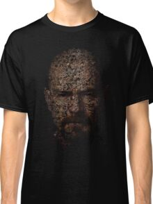 Walter White, Typographic Man of Chemistry Classic T-Shirt
