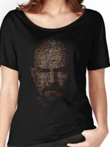 Walter White, Typographic Man of Chemistry Women's Relaxed Fit T-Shirt