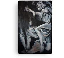 Mortal Refuse Canvas Print