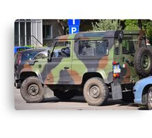 The JEEP Canvas Print