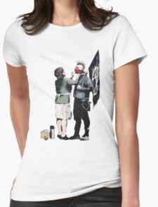 Anarchy... Womens Fitted T-Shirt