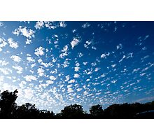 Clouds in Beverly Hills Photographic Print