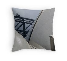 2 icons for the price of one! Throw Pillow
