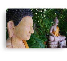 Double Buddha Canvas Print