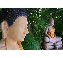 Double Buddha Photographic Print