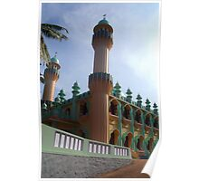 Beachside Mosque Varkala Poster