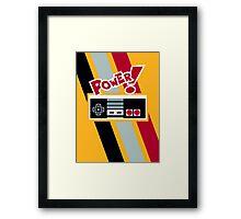 POWER! Framed Print
