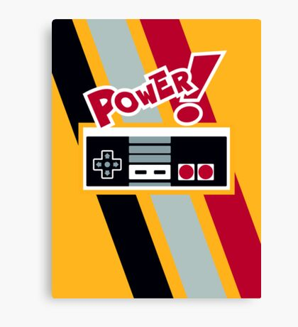 POWER! Canvas Print