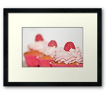 Raspberries In My Mouth Framed Print