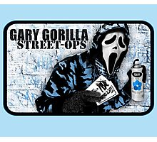 Gary Gorilla Street Ops Photographic Print