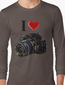 I Love Photography Long Sleeve T-Shirt