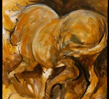 Big Gold Horse Returns by SHANNON BUEKER