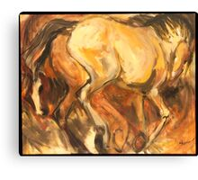 Tan Rump Canvas Print