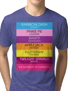 Minimalist Elements of Harmony Tri-blend T-Shirt