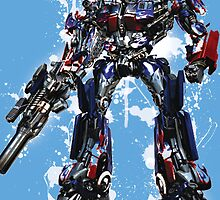 Optimus by Lewis Ross
