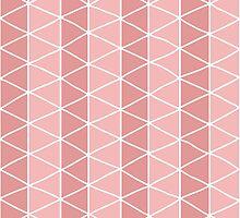 Grid Pink by BlueLela