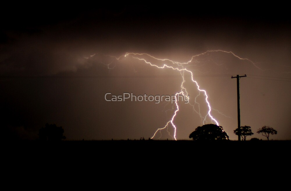Live Wire #2 - NSW by CasPhotography