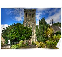 St Mary's at Birnam Poster